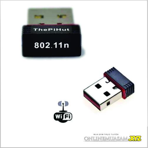 USB WIFI Nano | Thu Wifi Chuẩn N Siêu Nhỏ