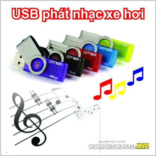 USB nghe nhạc trên ô tô chính hãng