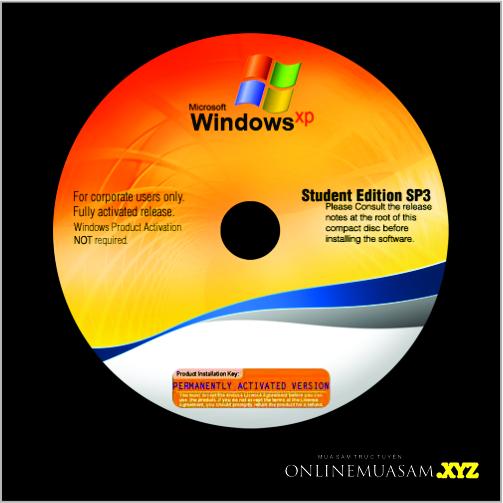 Bộ Đĩa WIN XP SP3 (32x64)
