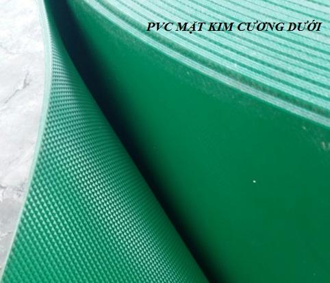 Dây PVC mặt kim cương dưới