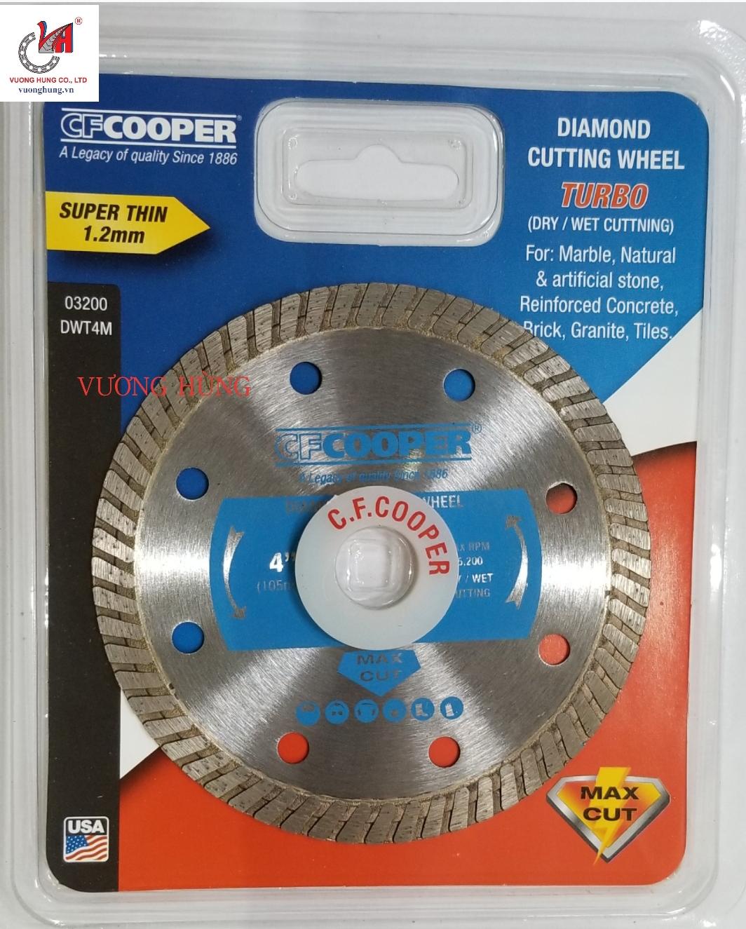 LƯỠI CẮT ĐA NĂNG 105X1.8X20mm COOPER ( DWT4M)
