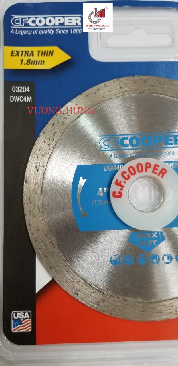 LƯỠI CẮT KIM CƯƠNG ƯỚT 105X1.8X20mm COOPER ( DWC4M )