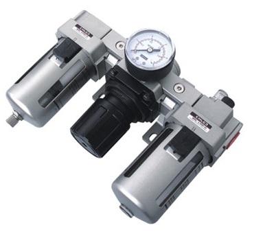 Lọc đôi có đồng hồ tự xả AC2000-02D