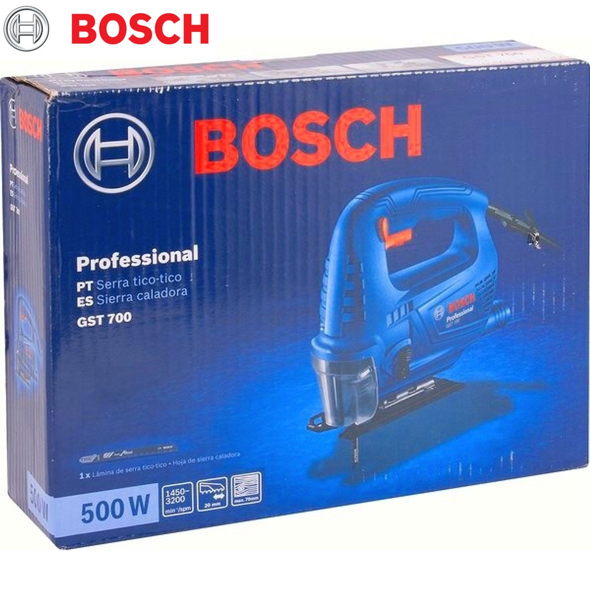 MÁY CƯA LỌNG 500W BOSCH - GST700