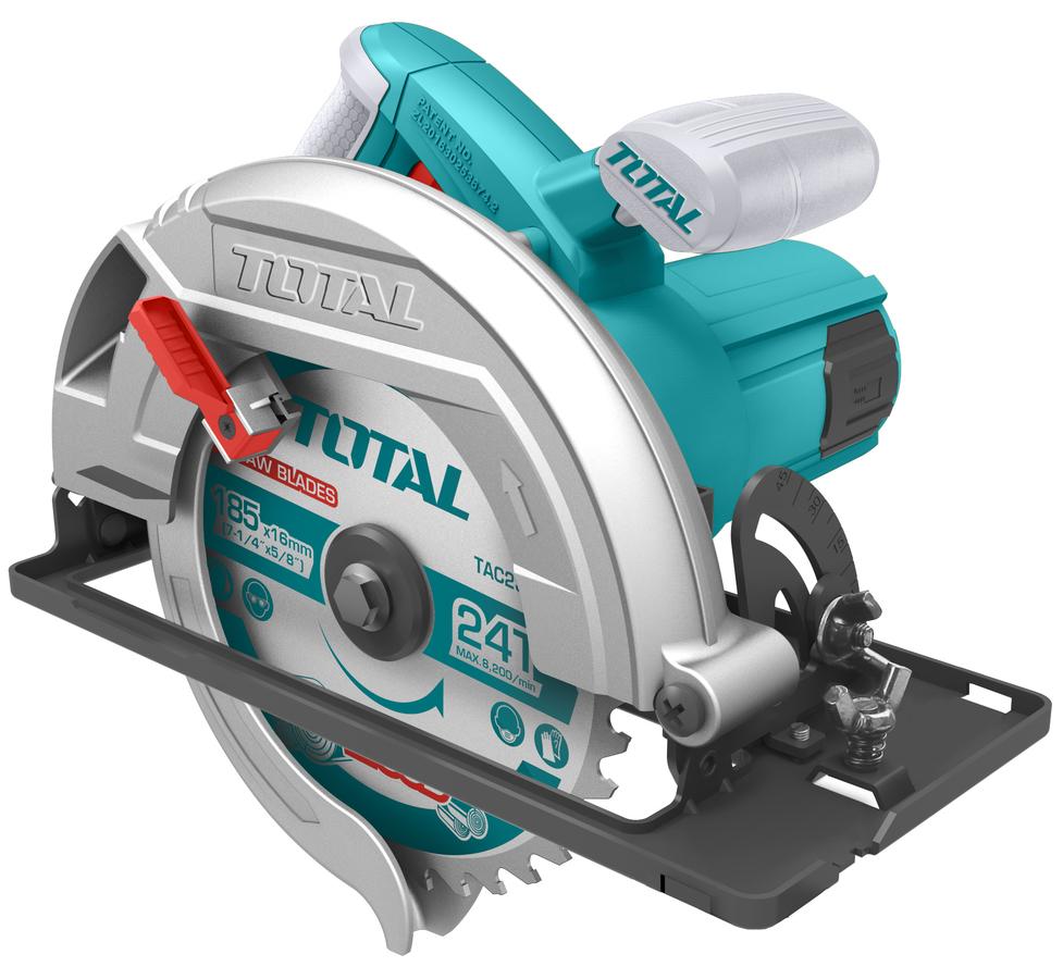 MÁY CƯA GỖ 185mm, 1400W, TOTAL - TS1141856