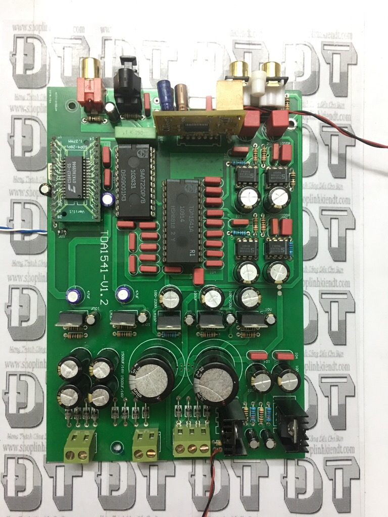 bo-kit-dac-tda1541a-tda1541-khong-bao-gom-tda1541-modul-usb-va-4-opam