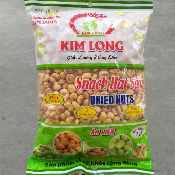 Bắp nếp sấy giòn Kim Long 400g ngon cực ngon