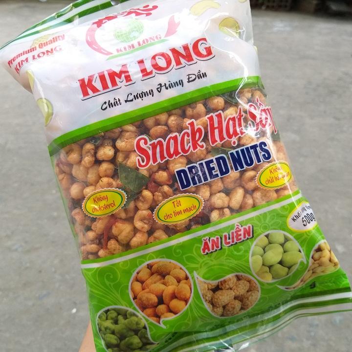 Bắp sấy khô bò lá chạnh 400g hiệu Kim Long