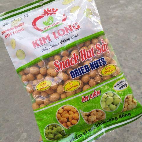 [500g] đậu phộng da cá cốt dừa Kim Long