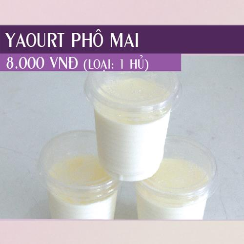 Yogurt Phô Mai