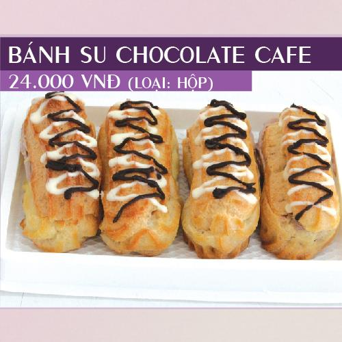 Bánh Su Chocolate Café