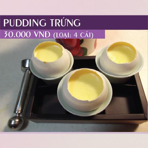 Pudding Trứng