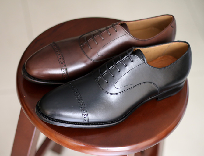 PUNCHED CAP TOE OXFORD