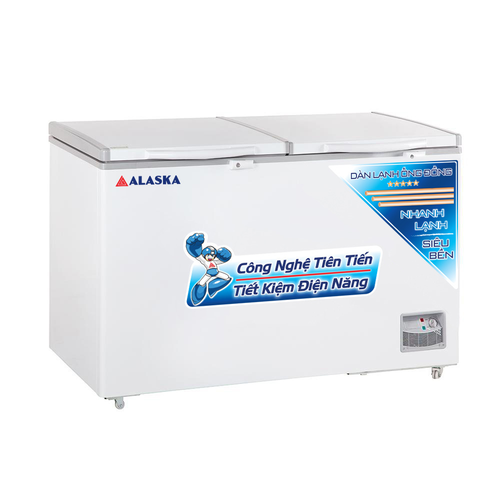 TỦ ĐÔNG ALASKA MỘT NGĂN HB-550C