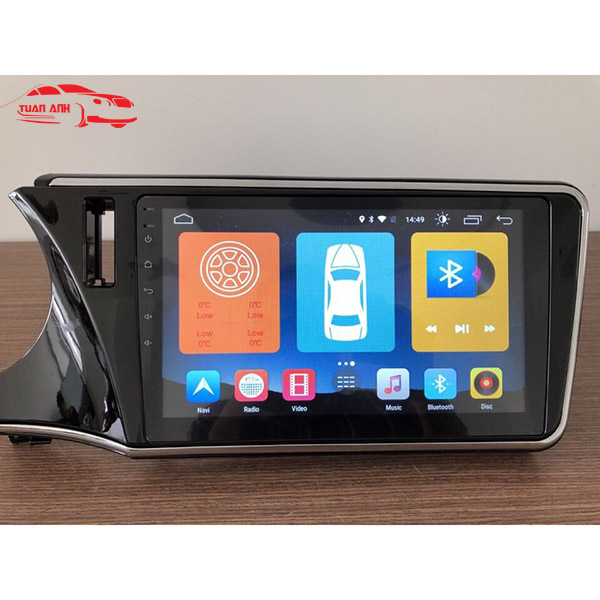 DVD Android xe honda city