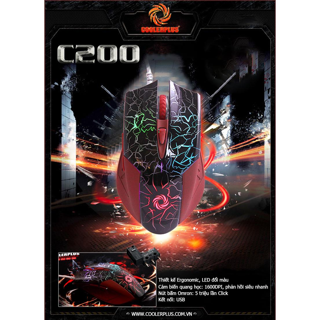 Chuột Game Coolerplus CPM C200