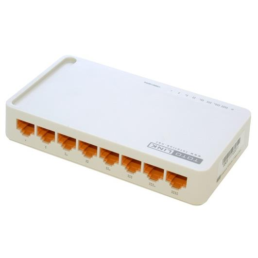 Cổng Chia Mạng 8 ports 10/100Mbps Switch Totolink S808