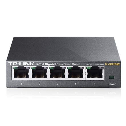 Bộ chia mạng TPLink TL-SG105E 5 Port Gigabit Easy Smart Switch