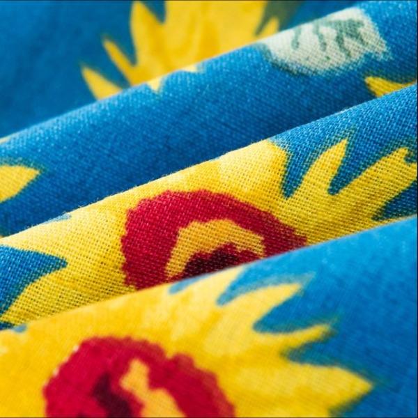 Vải hoa hướng dương - TB390
