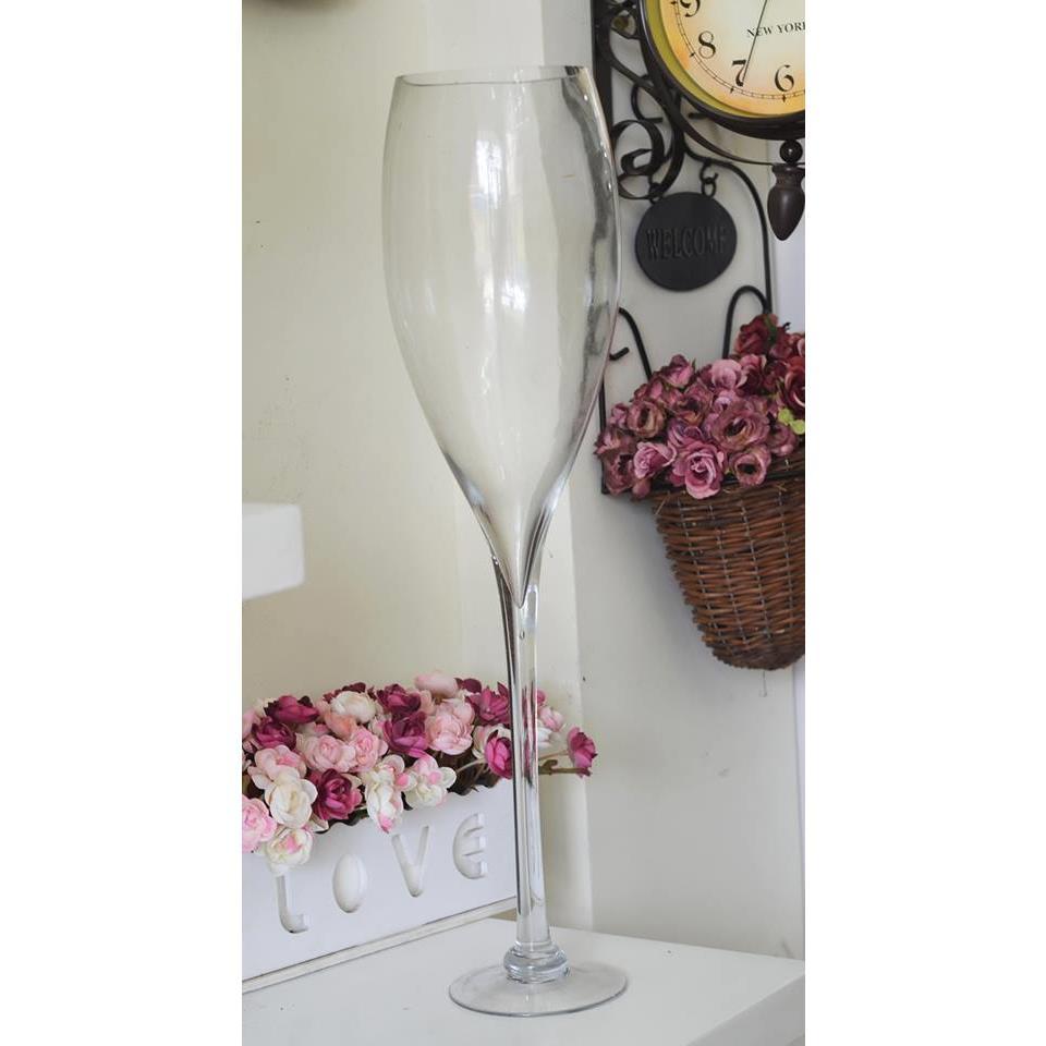 Bình TT ly trắng trong ( cỡ 50cm) - TT0189