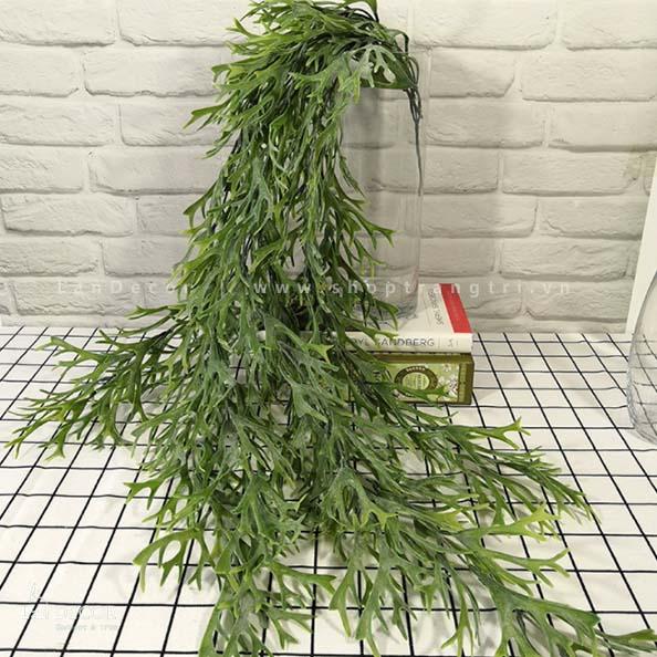 Bụi dương xỉ sừng Hươu trang trí LanDecor (105cm) - HC1042