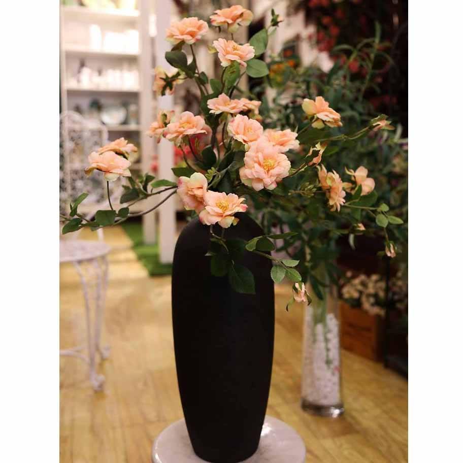Bình hoa hồng cam - BH405