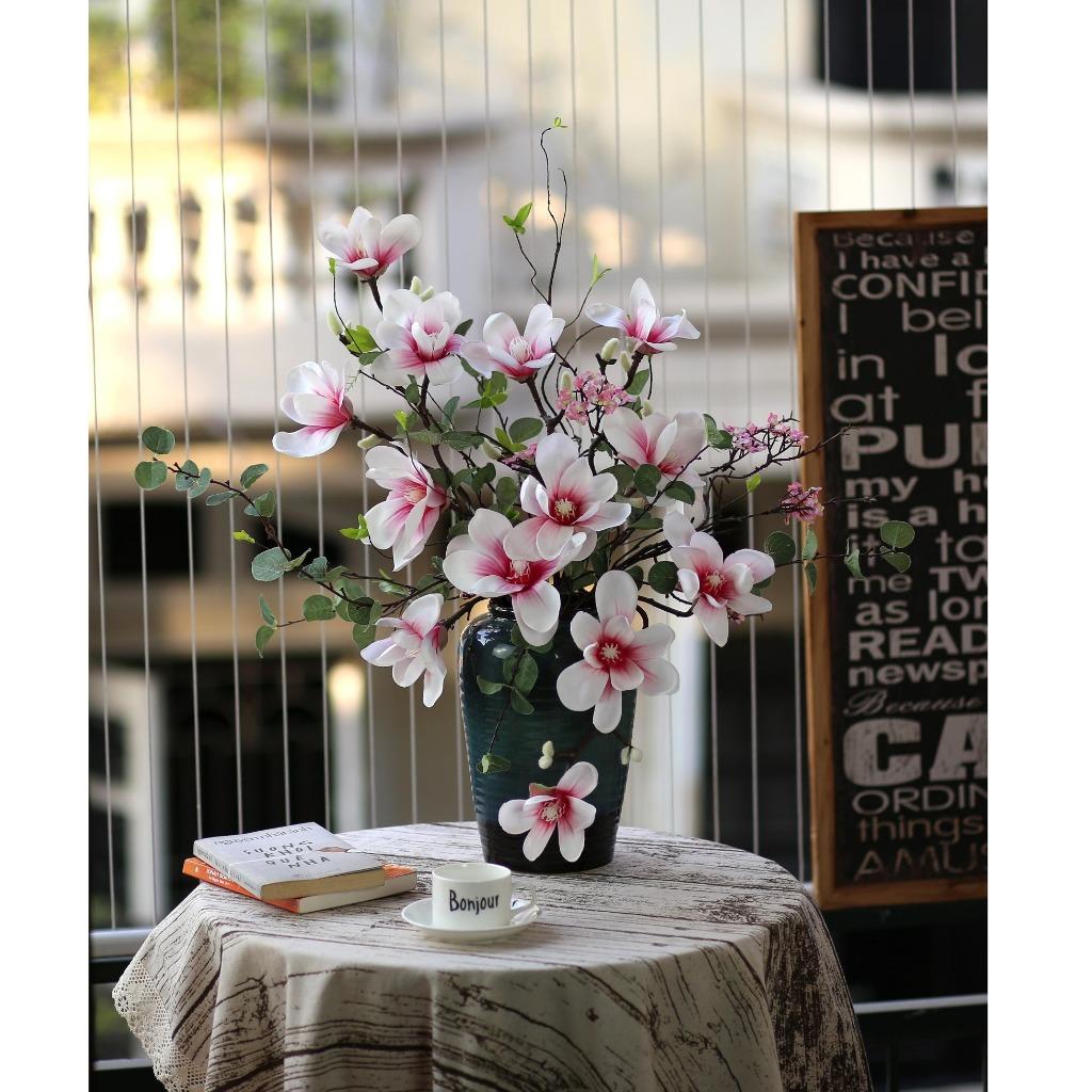 Bình hoa mộc lan cao 70cm - BH794
