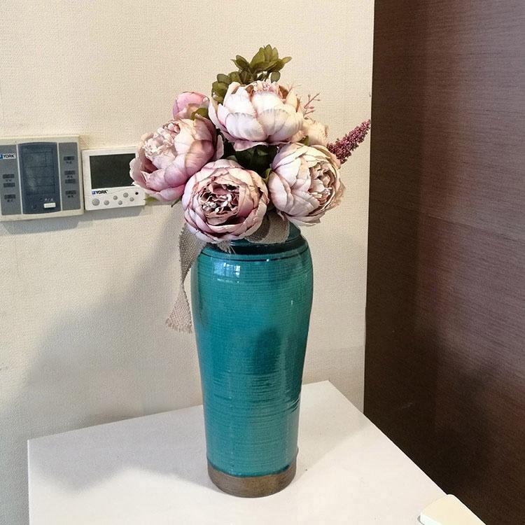 Bình gốm cắm hoa - BC024