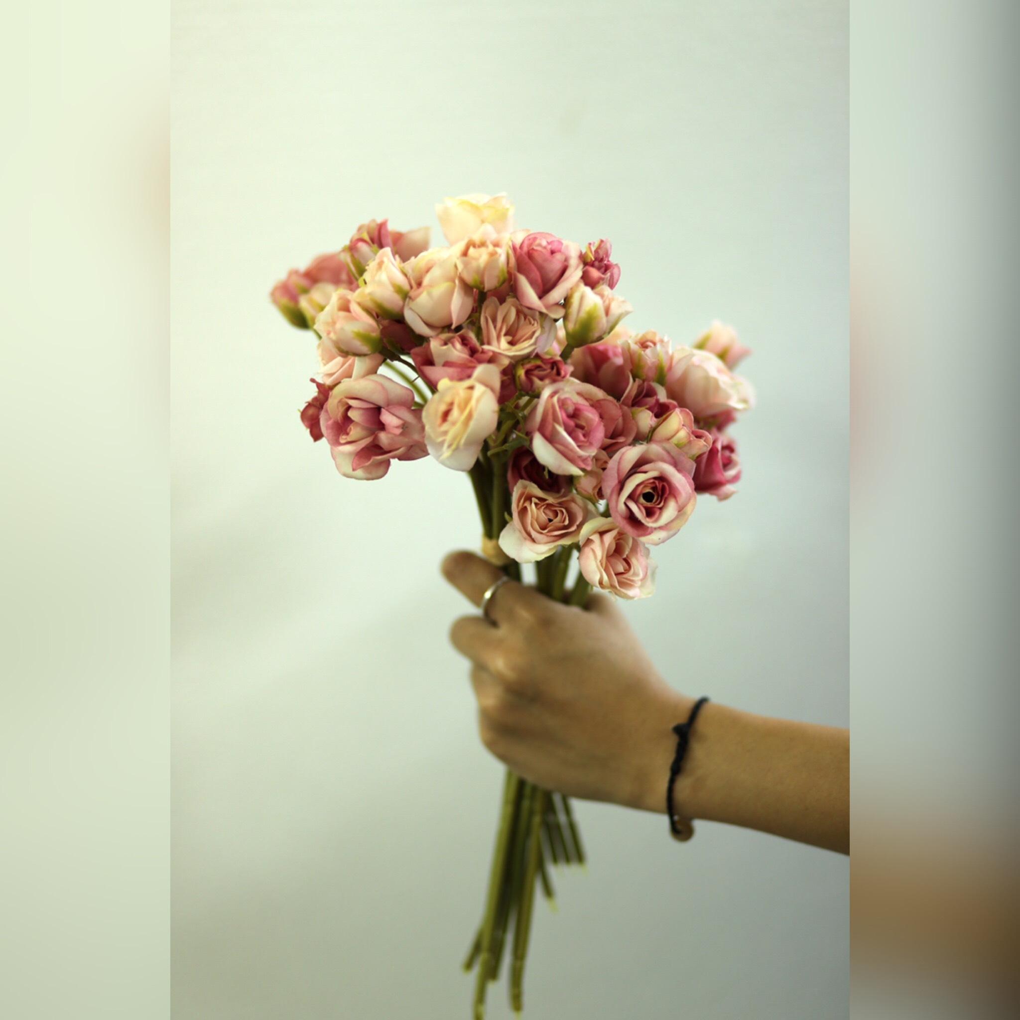 Bó hoa hồng nhí - HN057