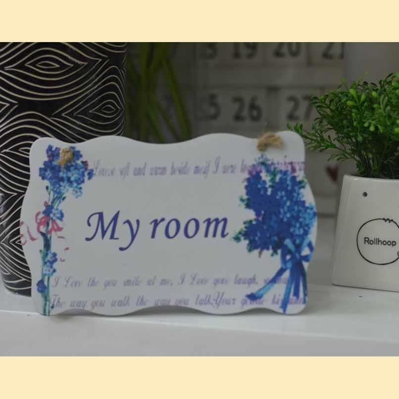 Biển treo My room - BTP002