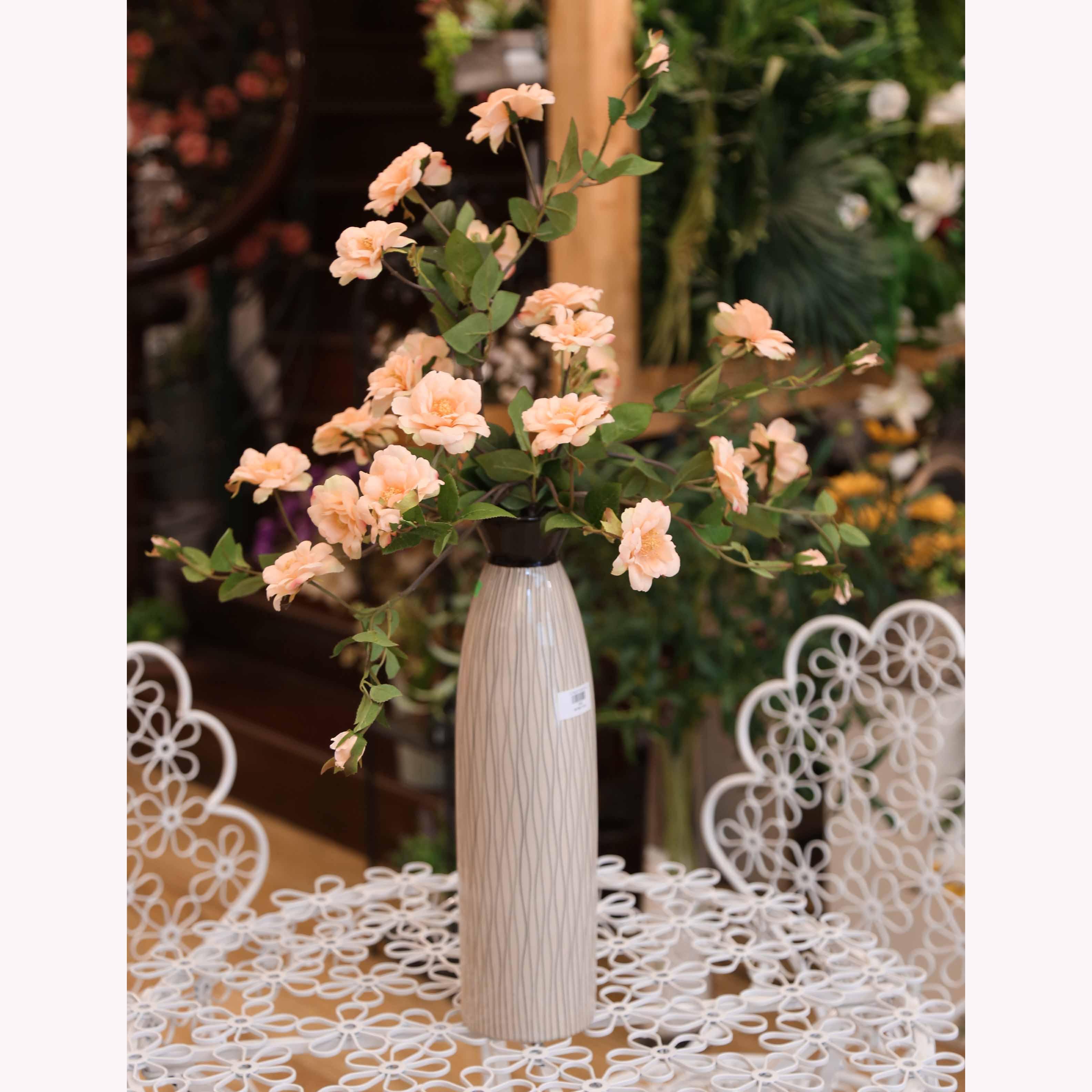 Bình hoa hồng để bàn - BH389