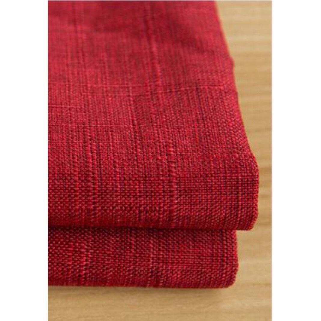 Vải trơn đỏ mận - TB395