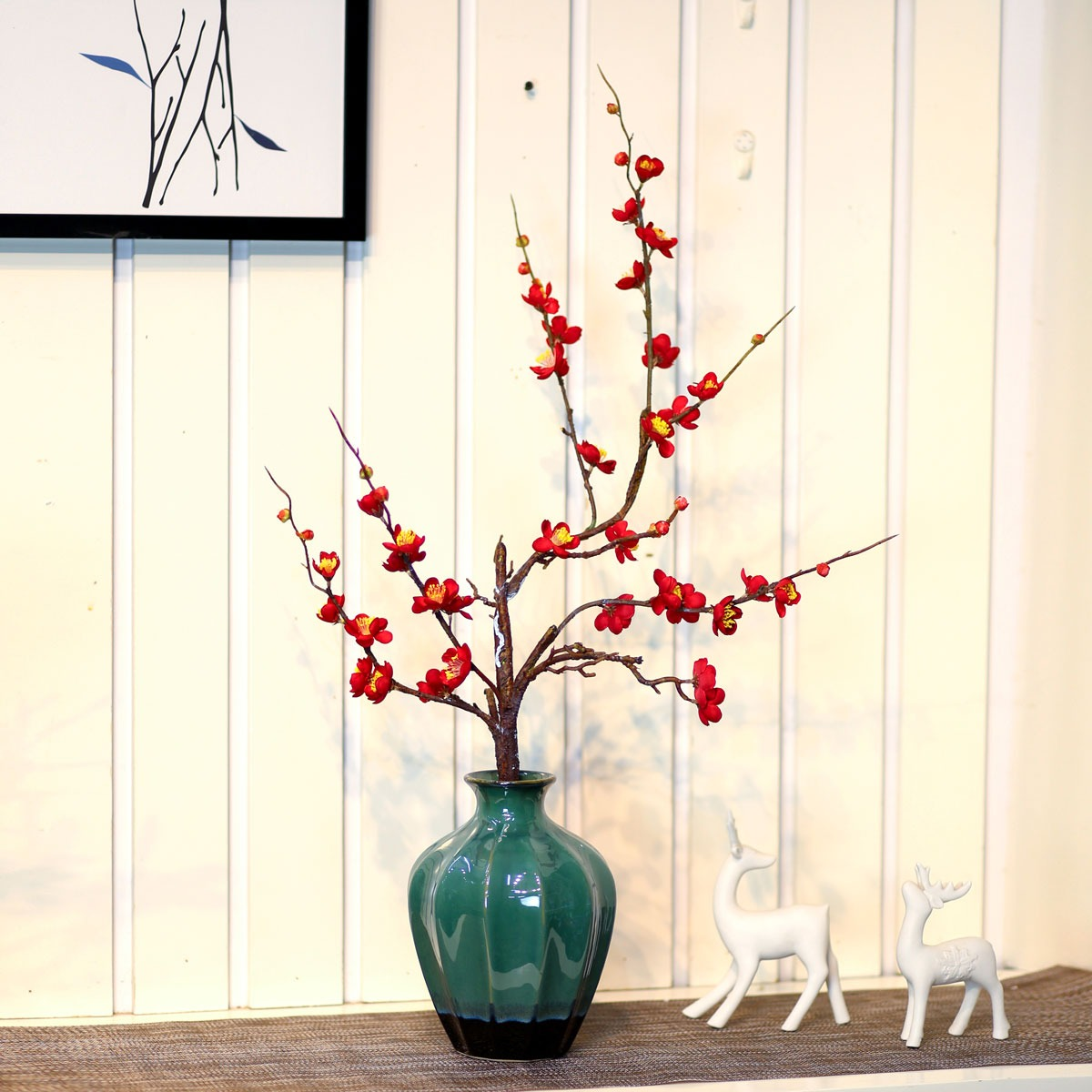 Bình hoa mai trang trí - BH1062