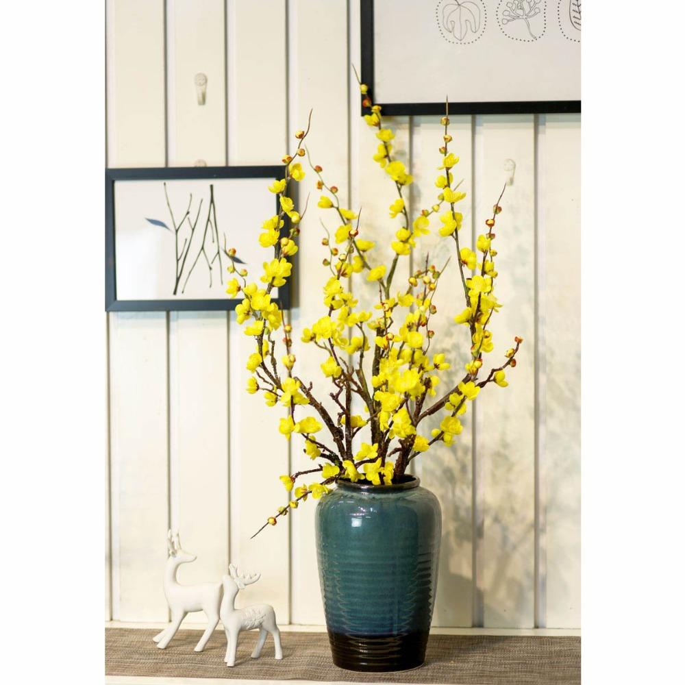 Bình hoa đào trang trí - BH782
