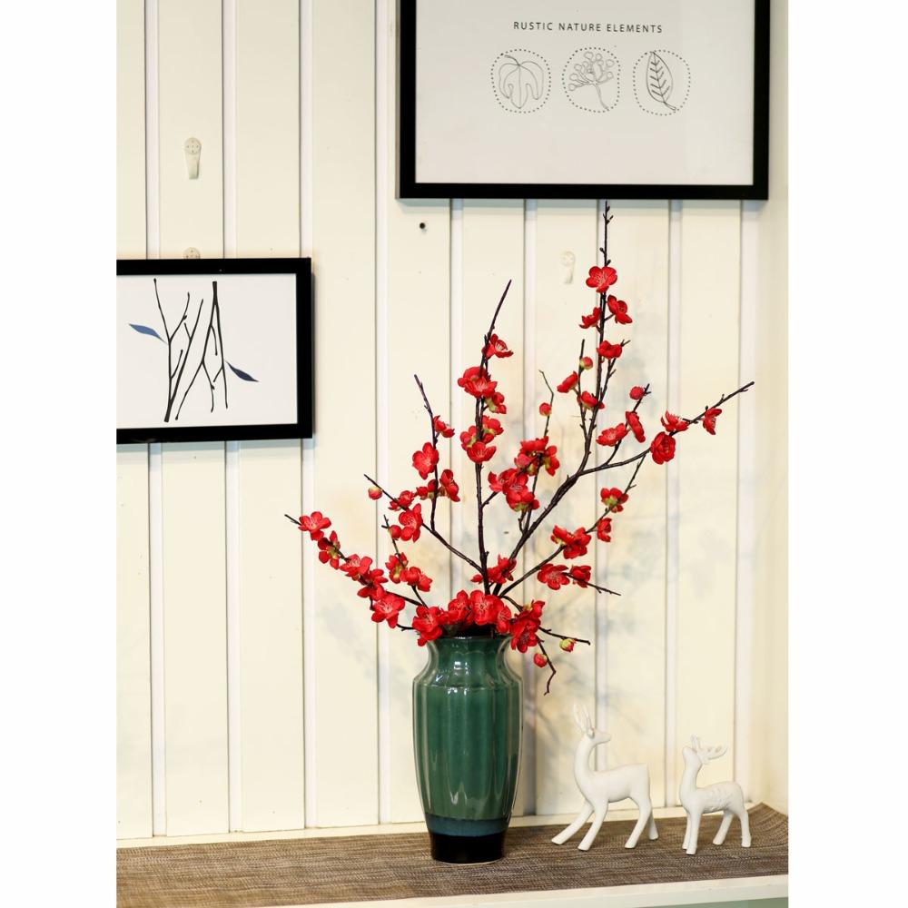 Bình hoa đào trang trí - BH783
