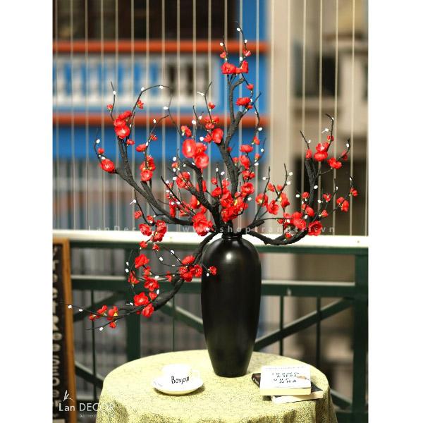 Bình hoa đào bích cao 90cm - BH1046