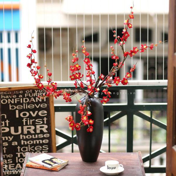 Bình hoa đào cao 90cm - BH1079