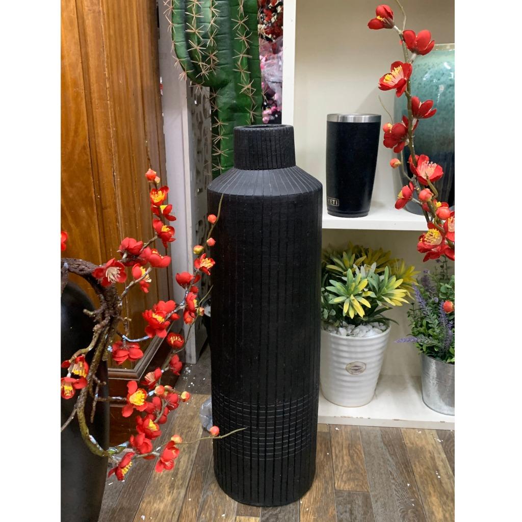 Bình gốm đen cao 80cm - BG429