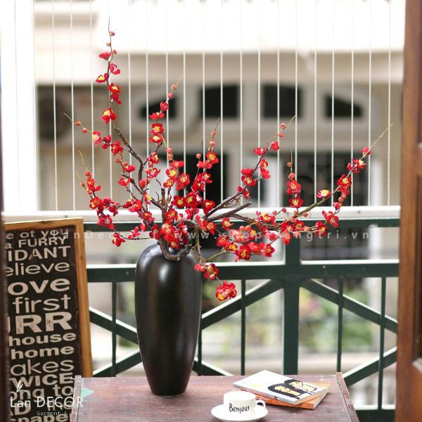 Bình hoa đào cao 90cm - BH1080
