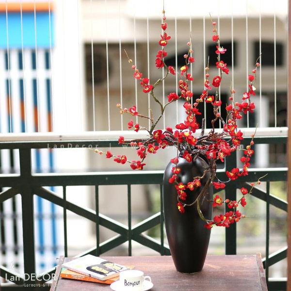Bình hoa đào cao 90cm - BH1078