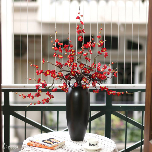 Bình hoa đào cao 90cm - BH1081