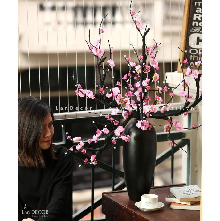 Bình hoa đào phai cao 90cm - BH1048
