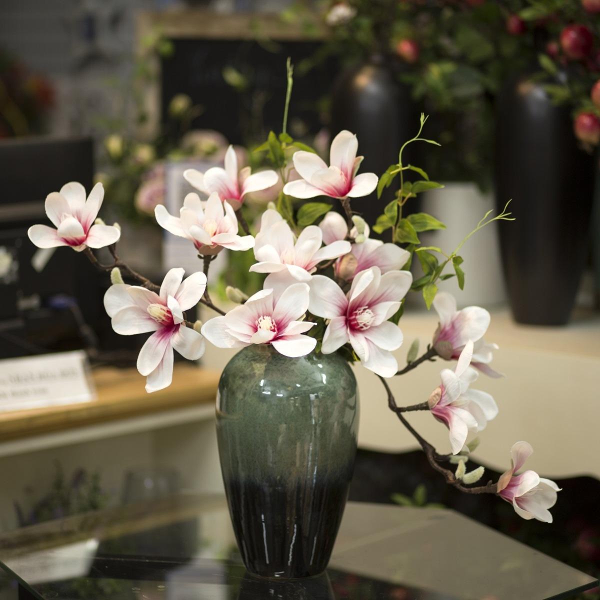 Bình hoa mộc lan cao 40cm - BH763