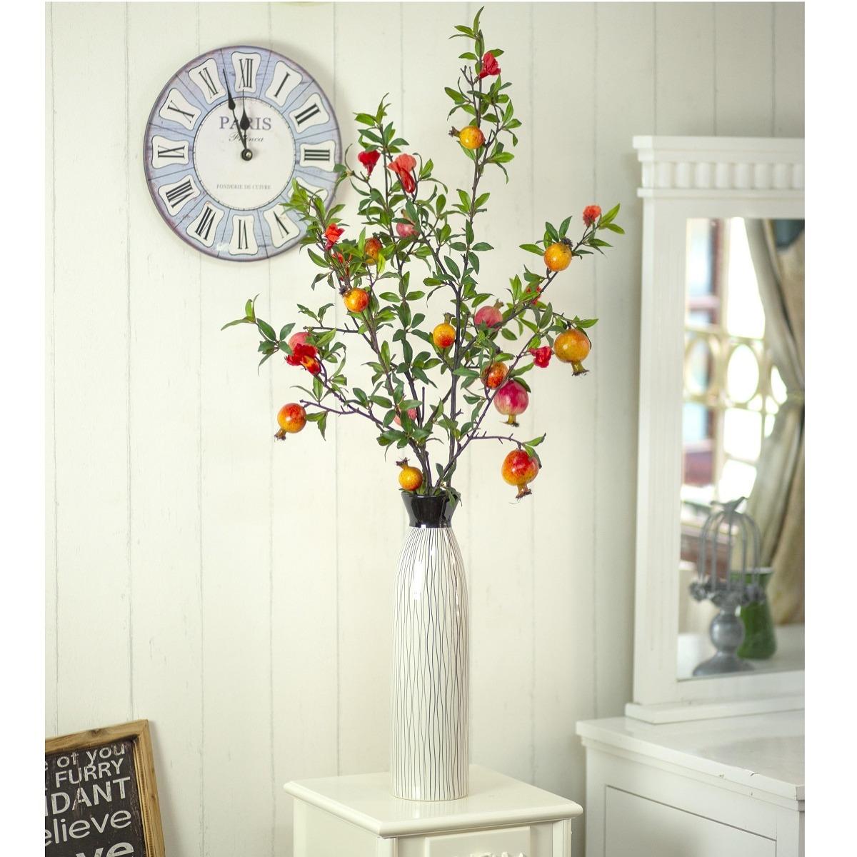 BH701 - Bình lựu (hoa đỏ)
