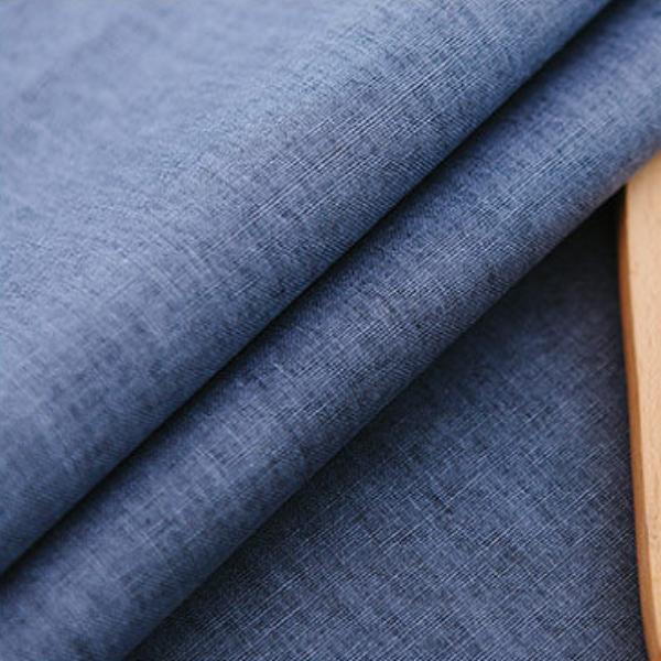 TB371 - Vải Canvas xanh trơn chống thấm