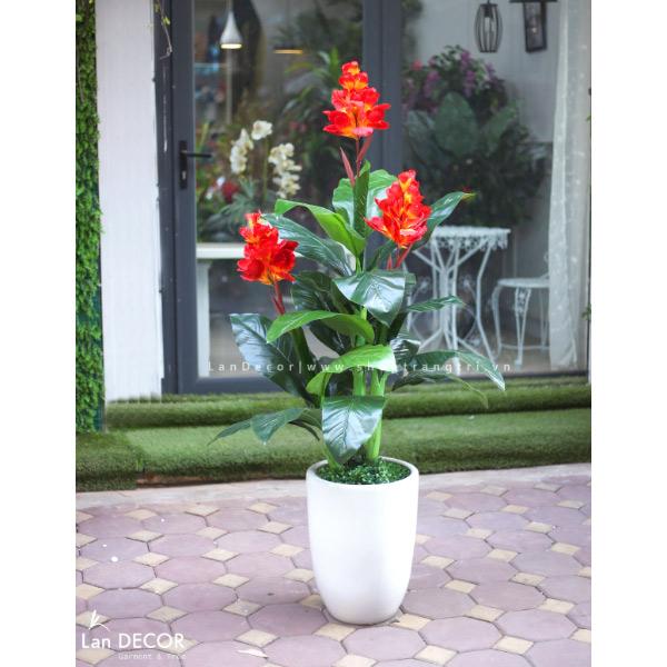 Cây tài lộc hoa trang trí nội thất đẹp 150cm - LC2083