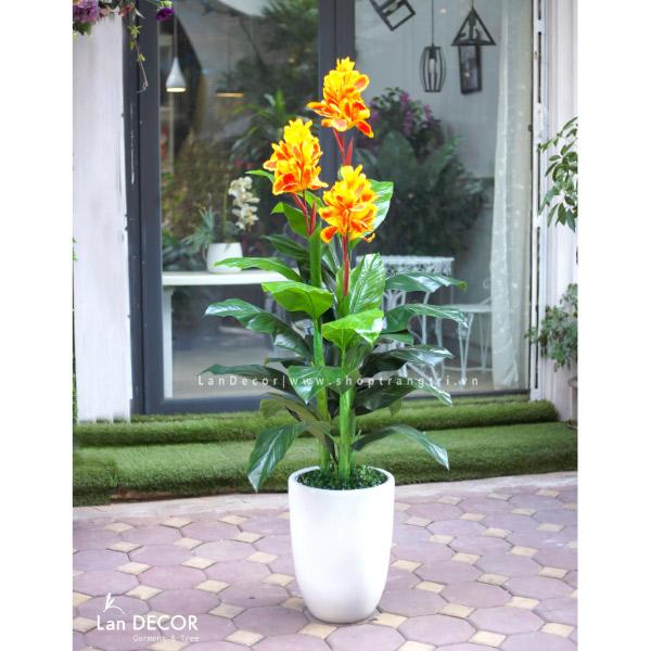 Cây tài lộc hoa trang trí nhà sang trọng 165cm - LC1782