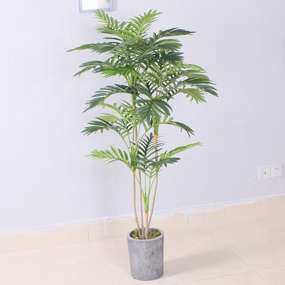 Cây dừa cảnh giả trang trí nhà sang trọng LanDecor (140cm) - LC2956