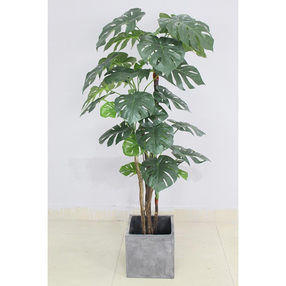 Cây lá rùa trang trí phong cách nhiệt đới hiện đại (170cm) - LC2691