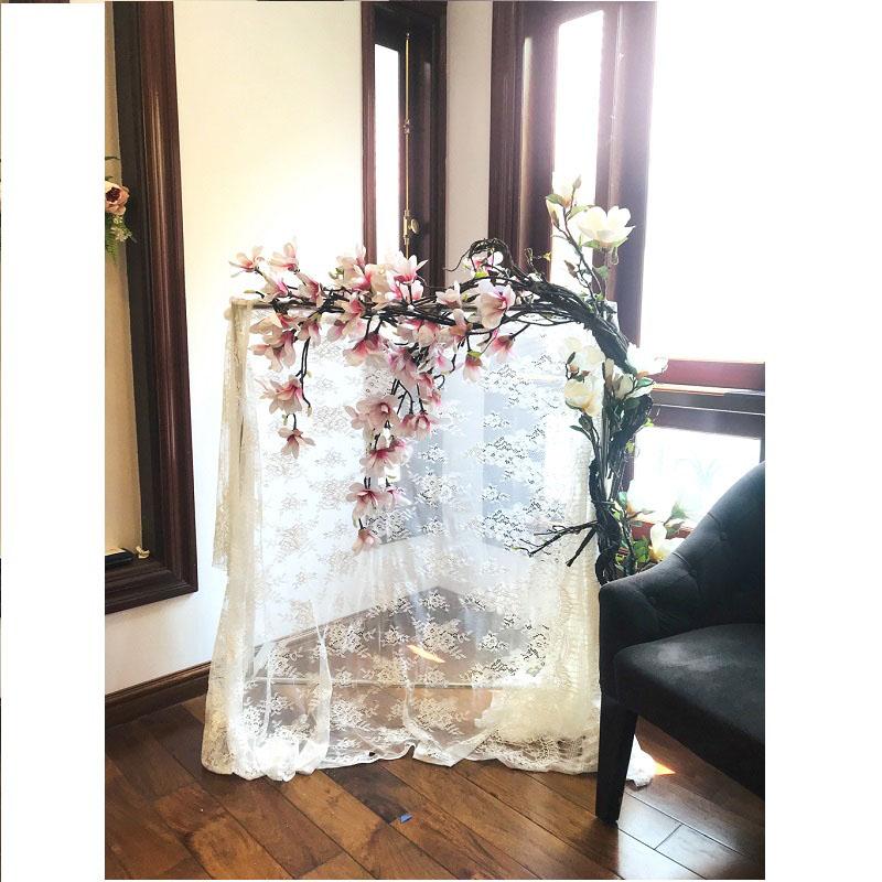Giàn hoa leo mộc lan tại studio
